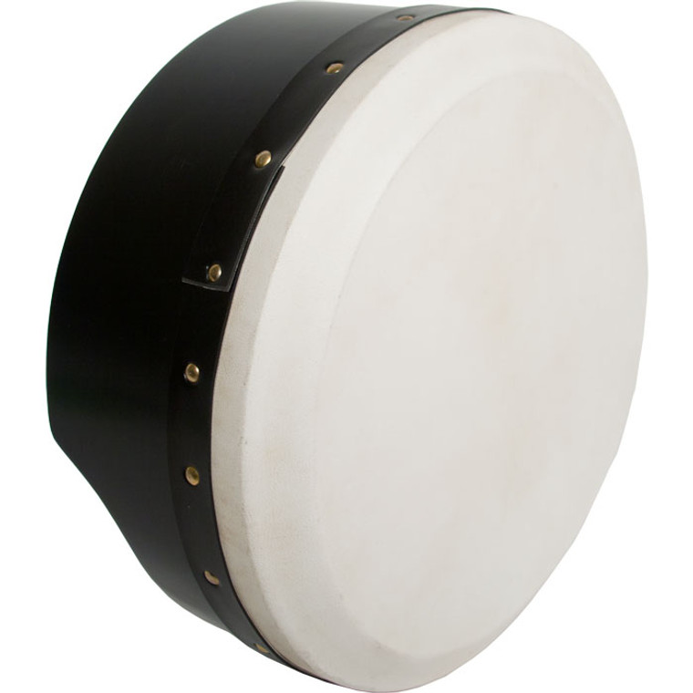 Roosebeck Tunable Ply Bodhran 13''X5'' - Black