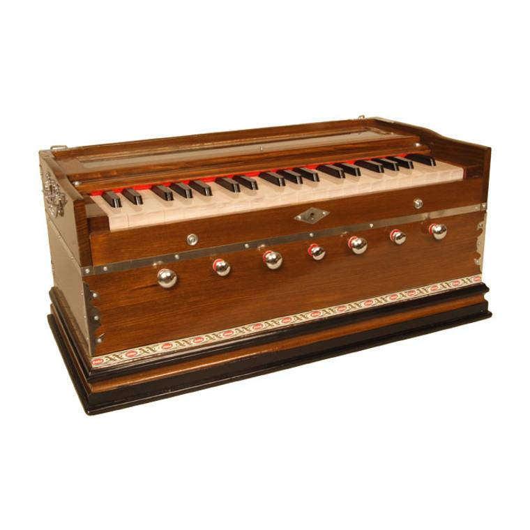 banjira Standard Harmonium 7-Knob A=432 - Dark