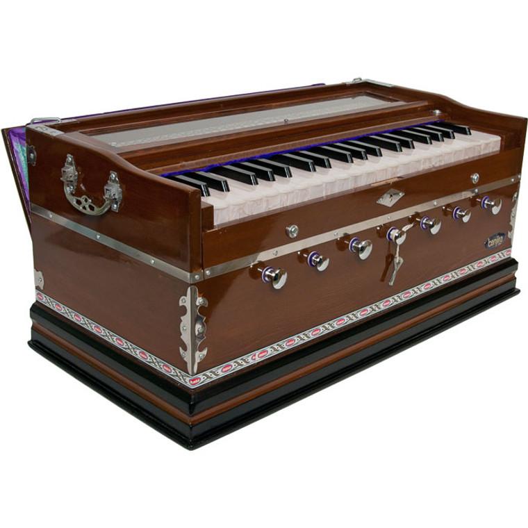 banjira Standard Harmonium 7-Knob - Dark