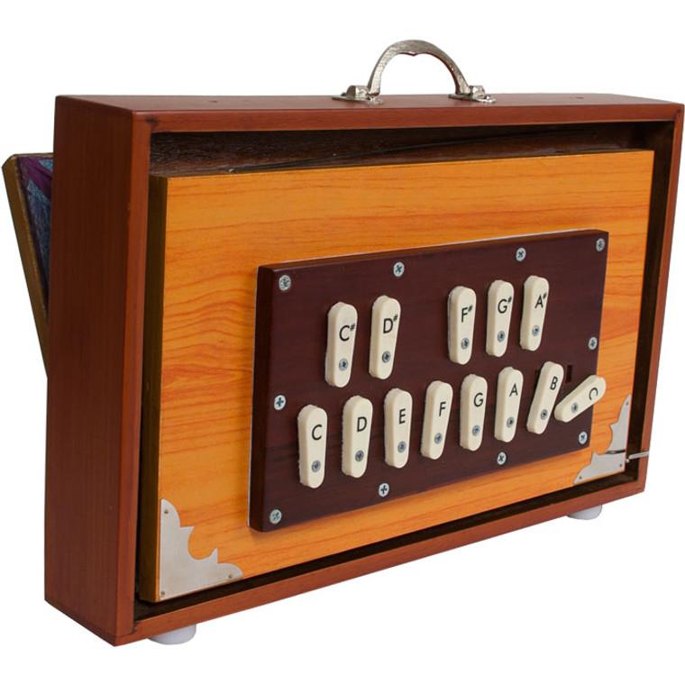 banjira Deluxe Shruti Box w/ Side Controls 4C-5C