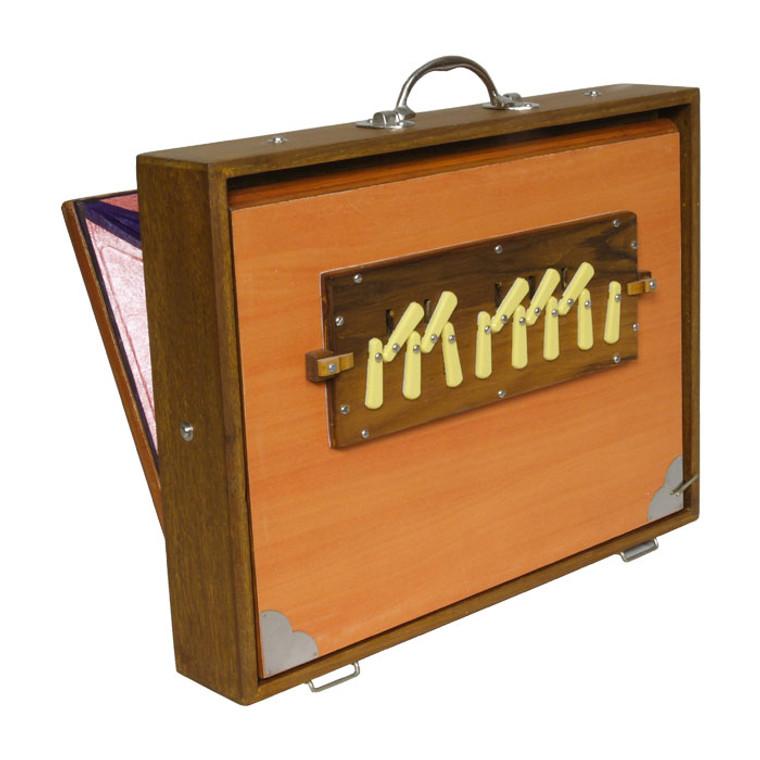 Sardar Pro Shruti Box w/ Side Controls 13-reed 4C-5C