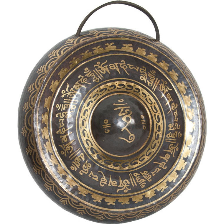 "DOBANI Tibetan Prayer Gong w/ Beater 10.5"" (27cm)"