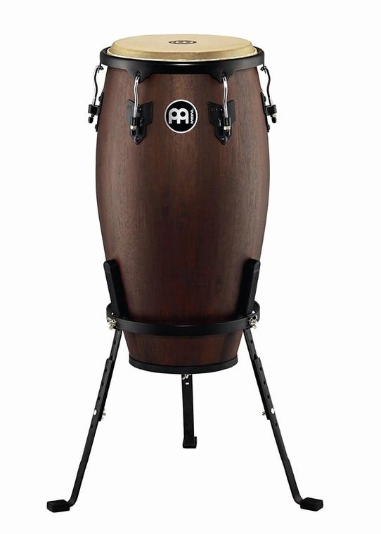 Meinl Headliner Designer Wood Conga with Basket Stand Vintage Wine Barrel 12-in.