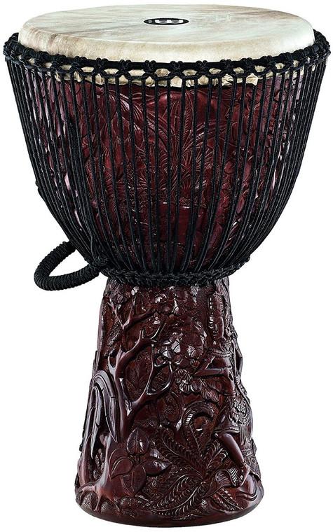 """Meinl Artisan Edition Djembe 14"""" Rama Sita Carving"""