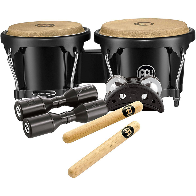 Meinl Percussion BPP-1 Bongo Pack for Jam Sessions or Acoustic Sets
