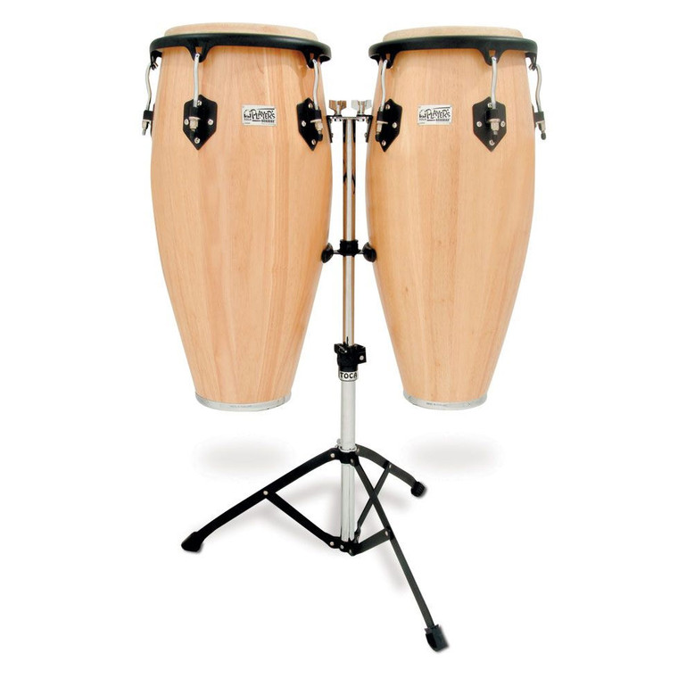 Toca Player's Series Wood Conga Set with Double Stand (2800N)