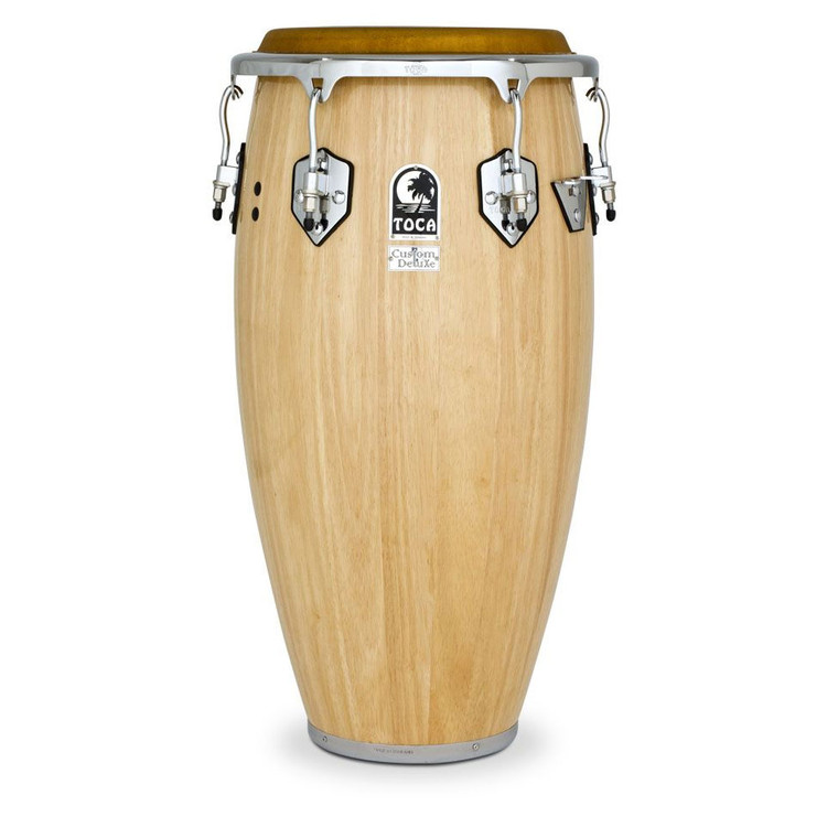 Toca Custom Deluxe Wood 11.75 in. Conga, Natural