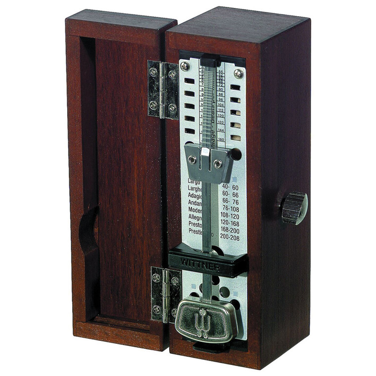 Wittner Taktel Super-Mini Metronome, Mahogany