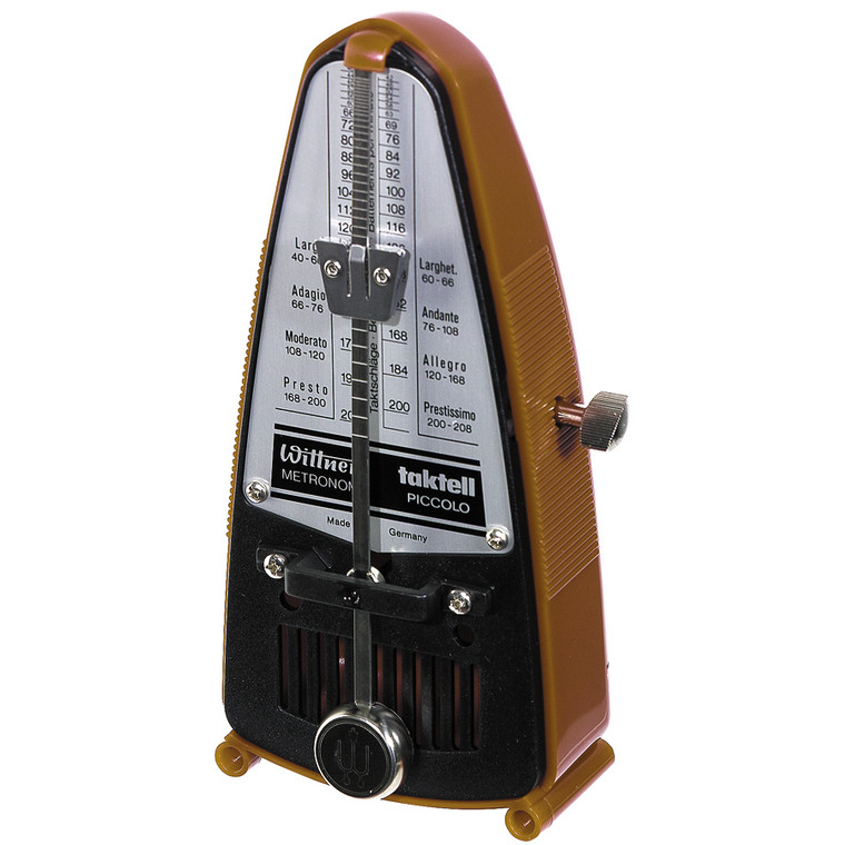 Wittner Taktell Piccolo Metronome, Light Brown