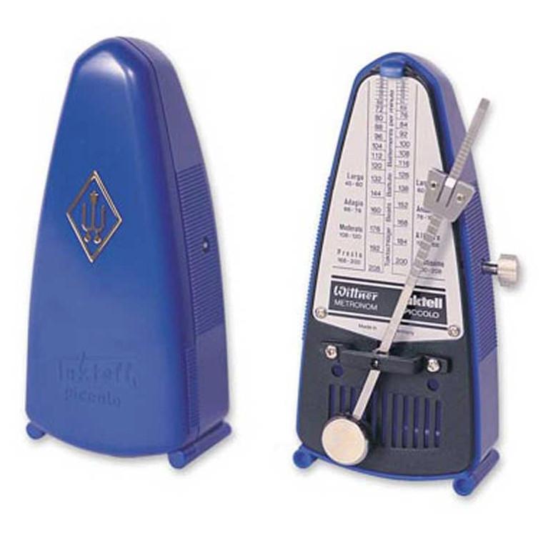 Wittner 837 Taktell Piccolo Metronome in Blue