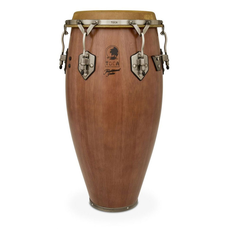 Toca Traditional 11-3/4 in. Conga Drum, Dark Walnut (3911-3/4D)