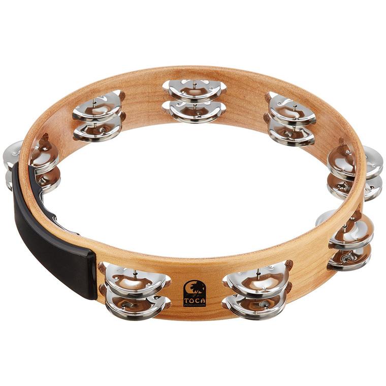 Toca Acacia Wood Tambourine, No Head