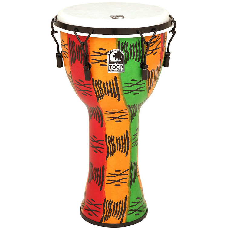 Toca FreeStyle 9 in. Mechanical Tuned Djembe, Spirit