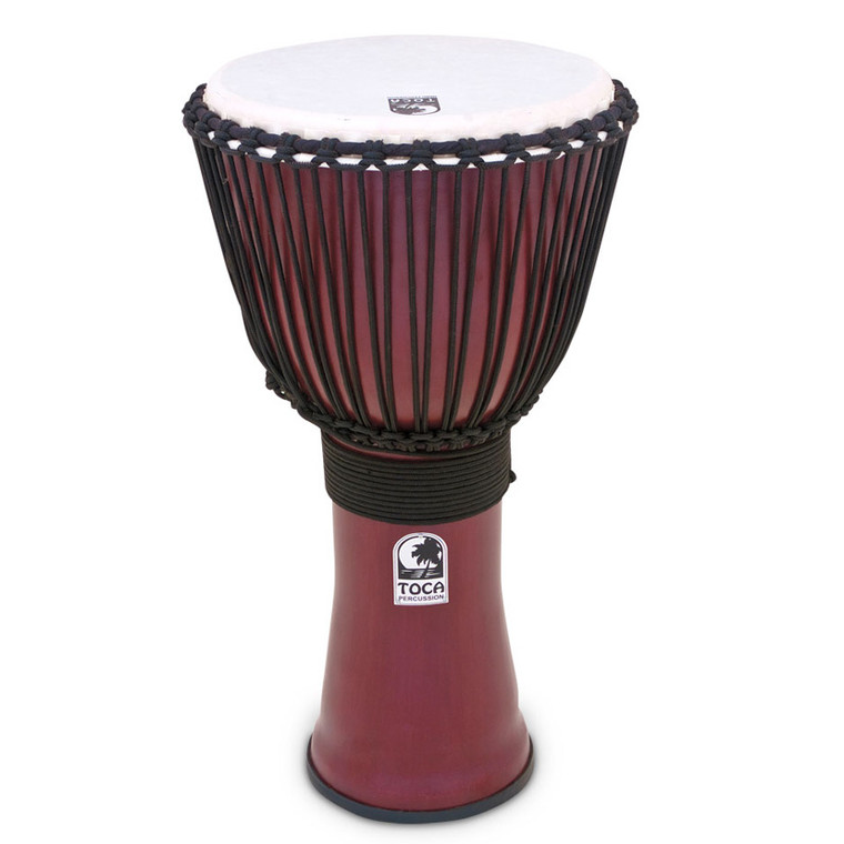 Toca 10 in. Freestyle II Rope Djembe