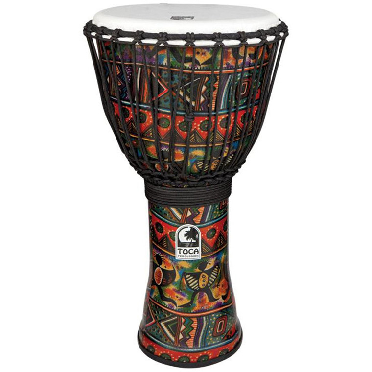 Toca Freestyle 14 in. Djembe, African Dance w/ Bag