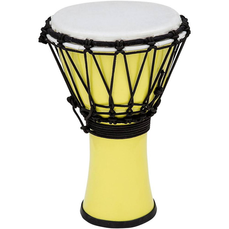 Toca Freestyle ColorSound Djembe, Pastel Yellow