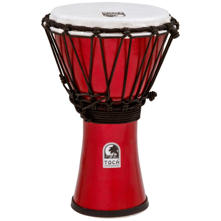 Toca Freestyle ColorSound Djembe, Metallic Red