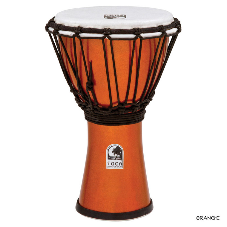 Toca Freestyle ColorSound Djembe, Metallic Orange