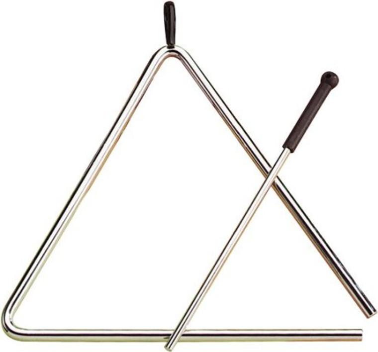 Toca 10 in. Samba Triangle w/ Striker