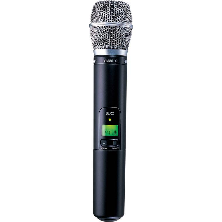 Shure SLX2/SM86-H5 Wireless Handheld Microphone Transmitter