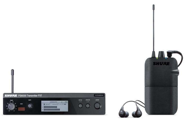 Shure P3TR112GR Wireless In-ear Monitor System