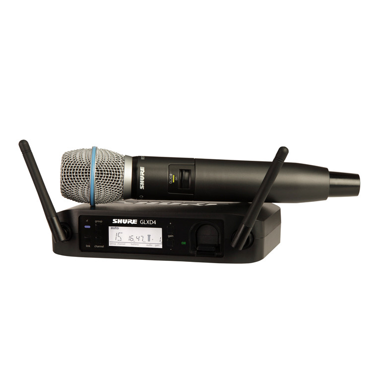 Shure GLXD24/B87A Handheld Wireless System