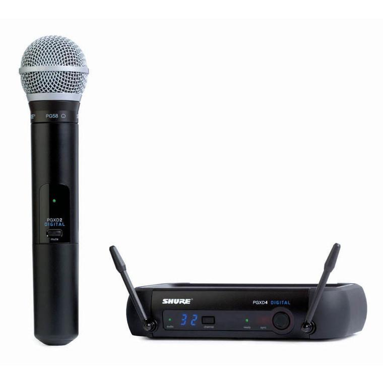 Shure PGXD24/PG58 Handheld Wireless System