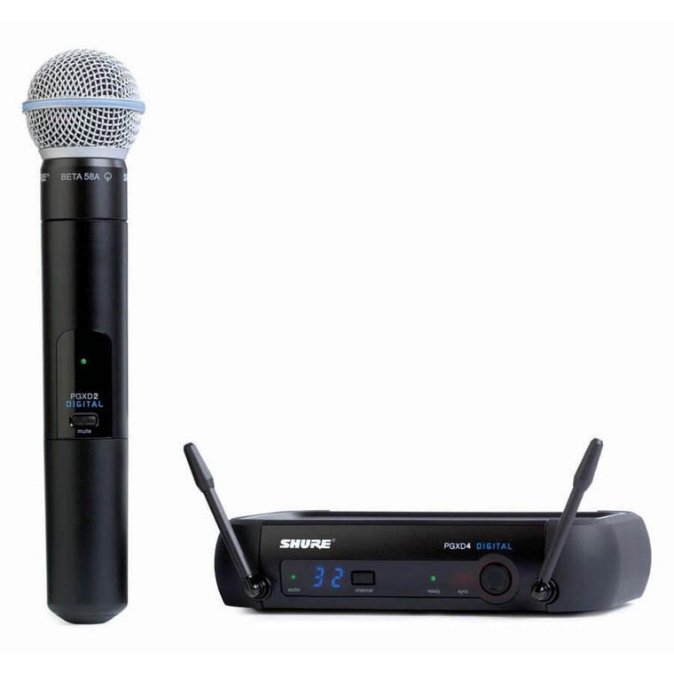 Shure PGXD24/BETA58 Handheld Wireless System