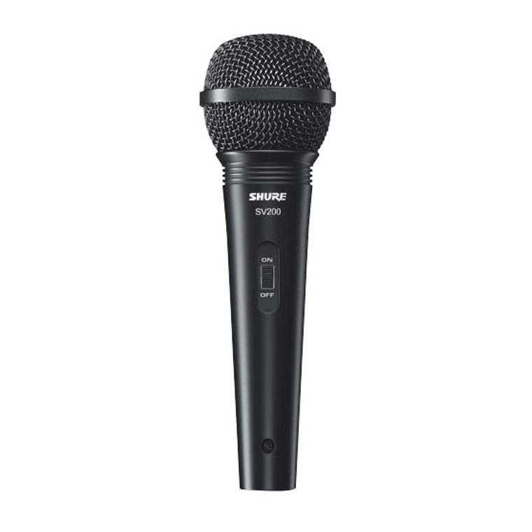 Shure SV200-W Cardioid Dynamic Microphone