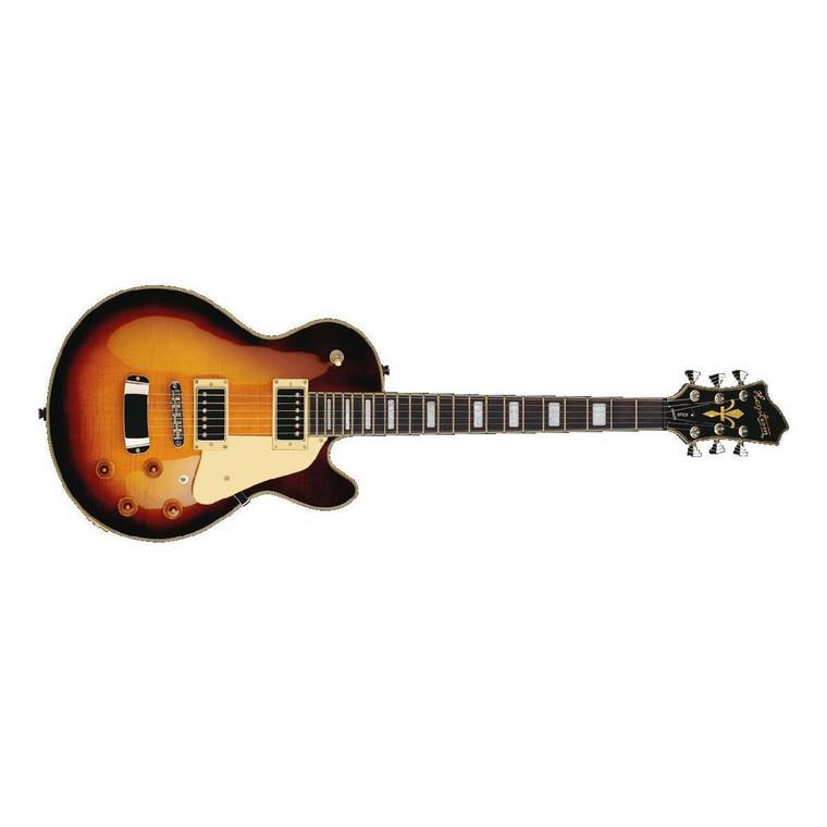 Hagstrom Super Swede Electric Guitar - Vintage Sunburst