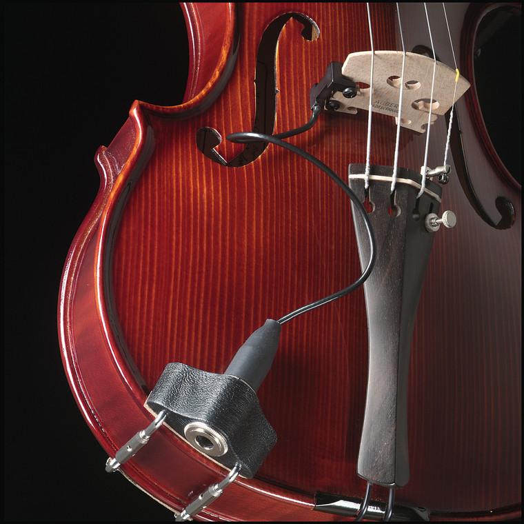 Barcus Berry Clamp-On Violin Bridge Piezo Pickup