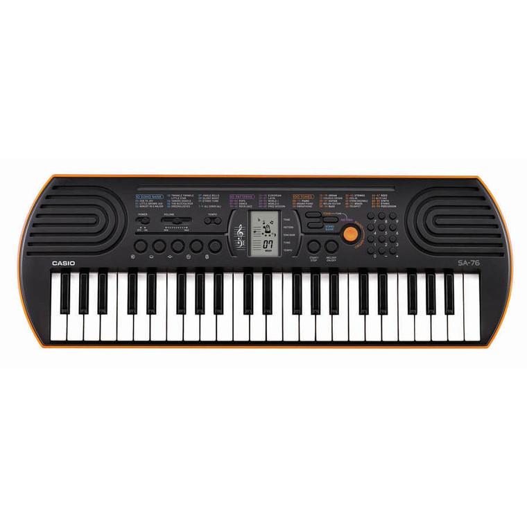 Casio Mini Personal Keyboard 100 Tones - Orange