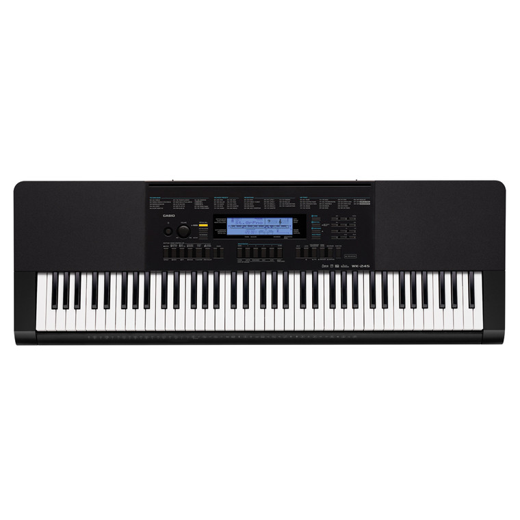 Casio WK245 76-Key Workstation Keyboard