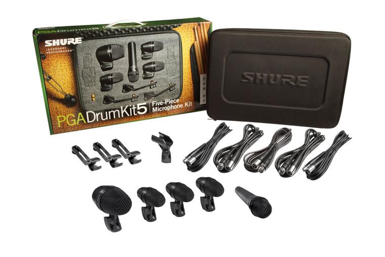 Shure PGADRUMKIT5 Microphone Kit