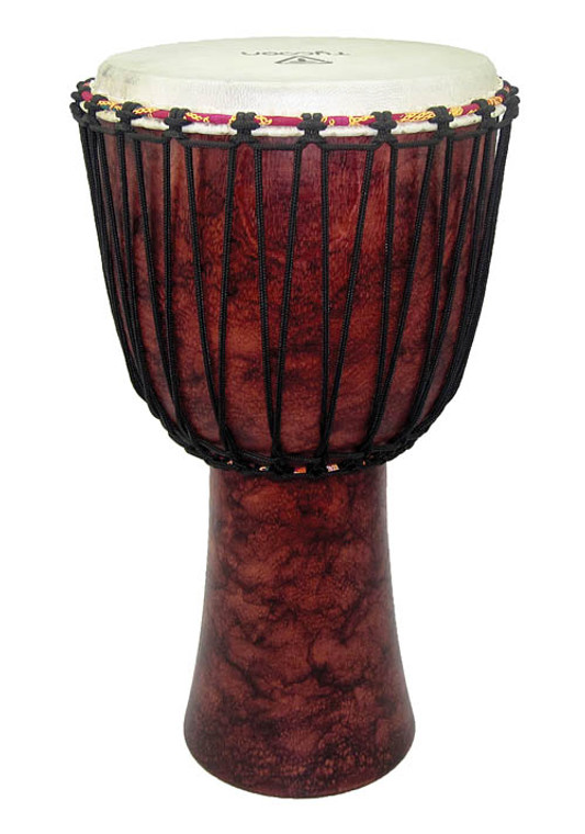 Tycoon Red Marble Rope Tuned Djembe 12‰Û_