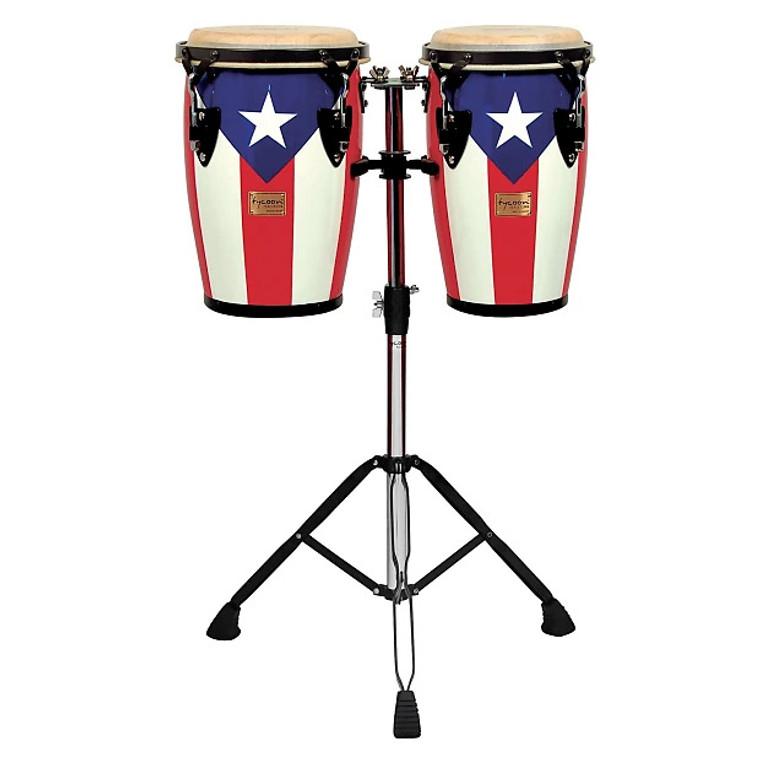 Tycoon Junior Series Puerto Rican Flag Congas 8‰Û_ & 9‰Û_