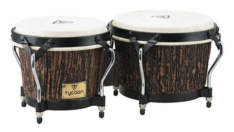 Tycoon Supremo Select Series Bongos Lava Wood Finish Model STBS-B LW