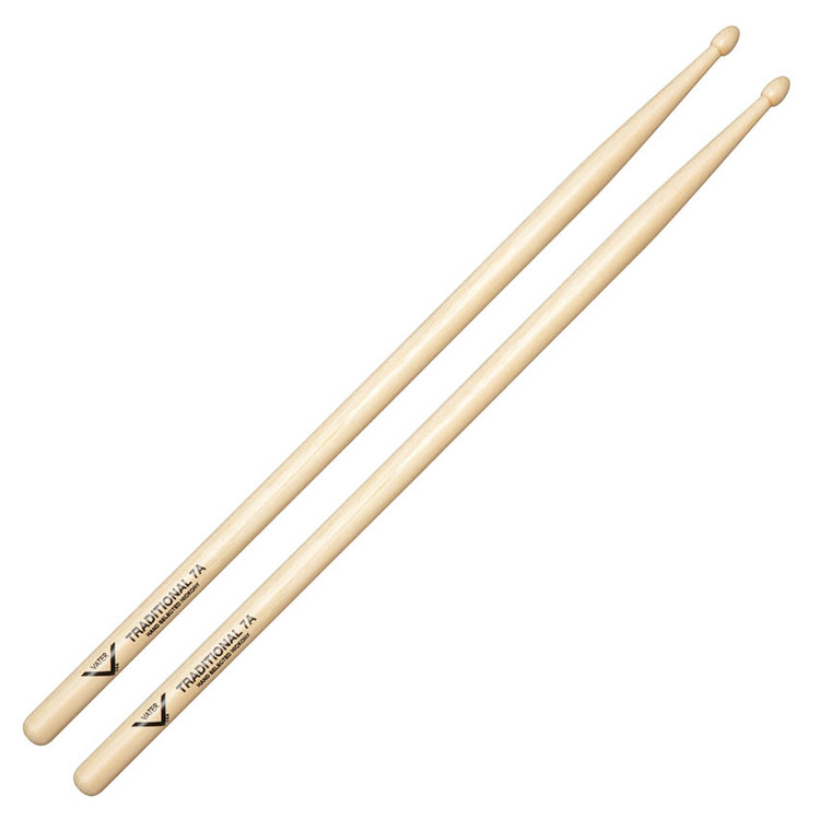 Vater Traditional 7A Wood Drum Sticks