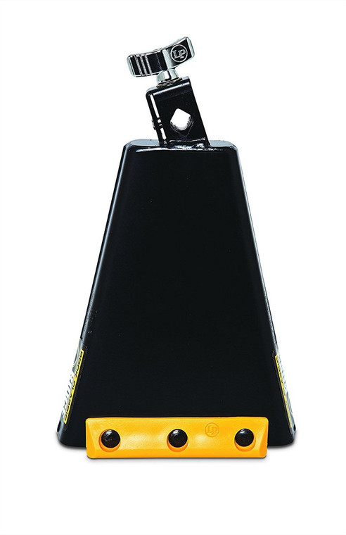 LP 8 Inch Class Rock Ridge Rider Cowbell with Self Aligning 1/2 Inch Mount (LP009-N)