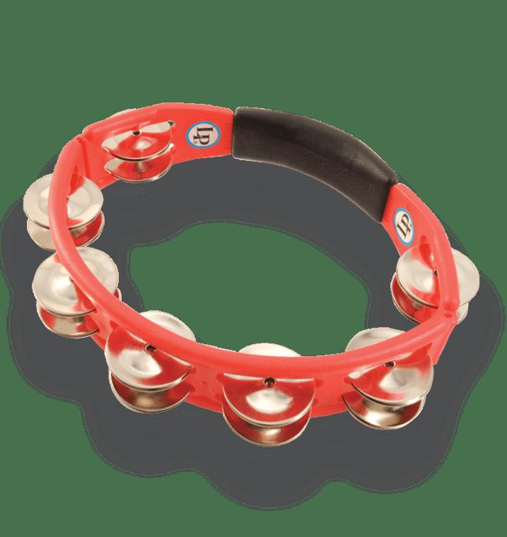 LP Cyclops Hand Held Tambourine Red (LP151)