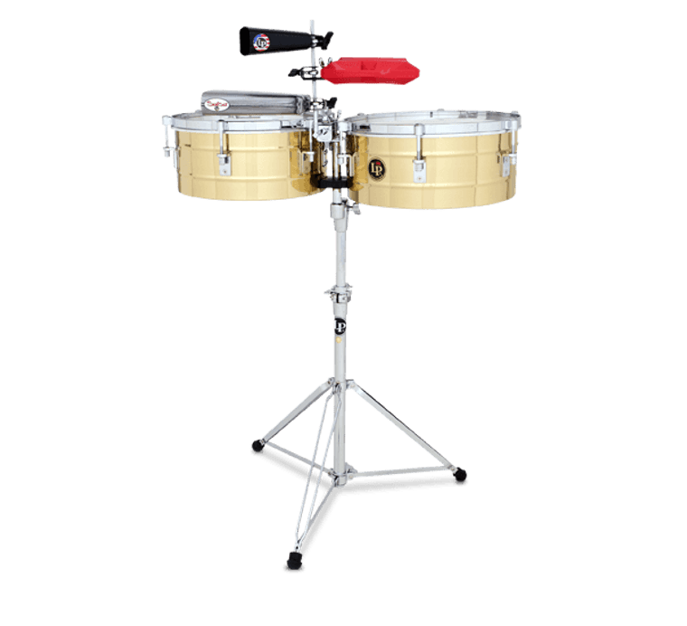 """LP Tito Puente 14"""" and 15"""" Timbales (LP257-B)"""