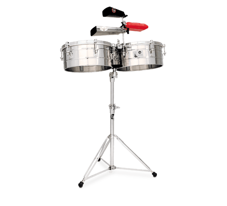 """LP Tito Puente 14"""" and 15"""" Timbales (LP257-S)"""