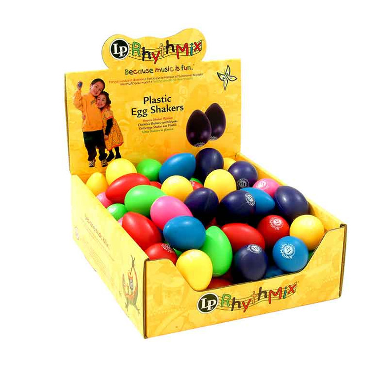 LP Egg Shakers  24 Mix Pack (LP001-24MX)