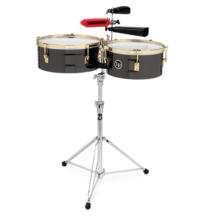 """LP Fausto Cuevas III 14"""" And 16"""" Signature Timbale Set (LP1416-R)"""