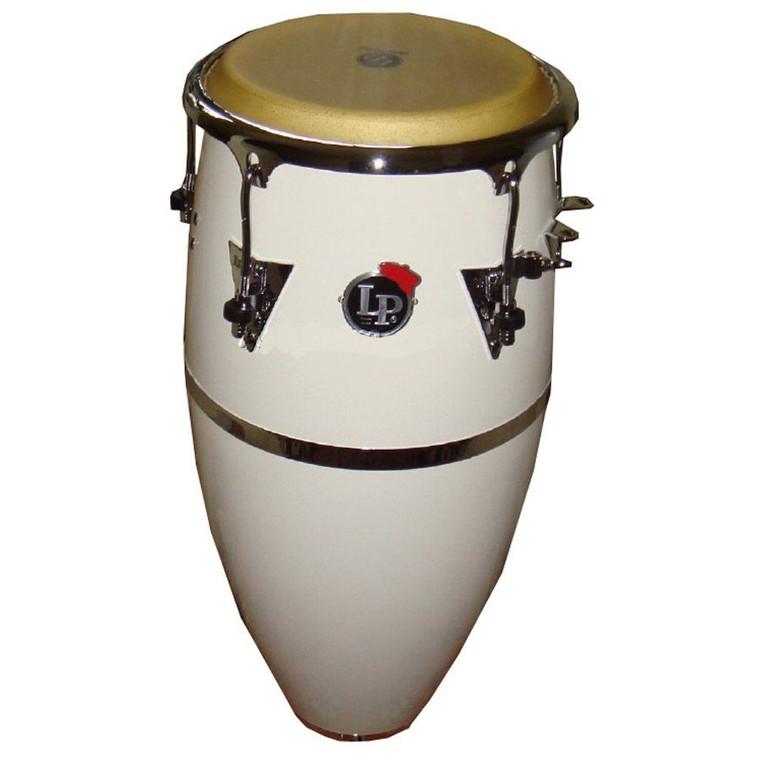 "LP Patato Model 11 3/4"" Conga, White (LP559X-1WH)"
