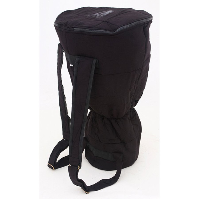 """Toca 12"""" Djembe Bag with Carry All Strap Kit, Black (TDBSK-12B)"""