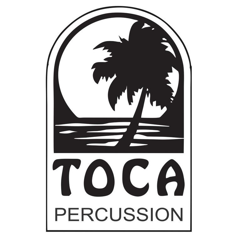 "Toca Synergy Bongo Hoop 6"" Black For Fiberglass (TP-2100SRF)"