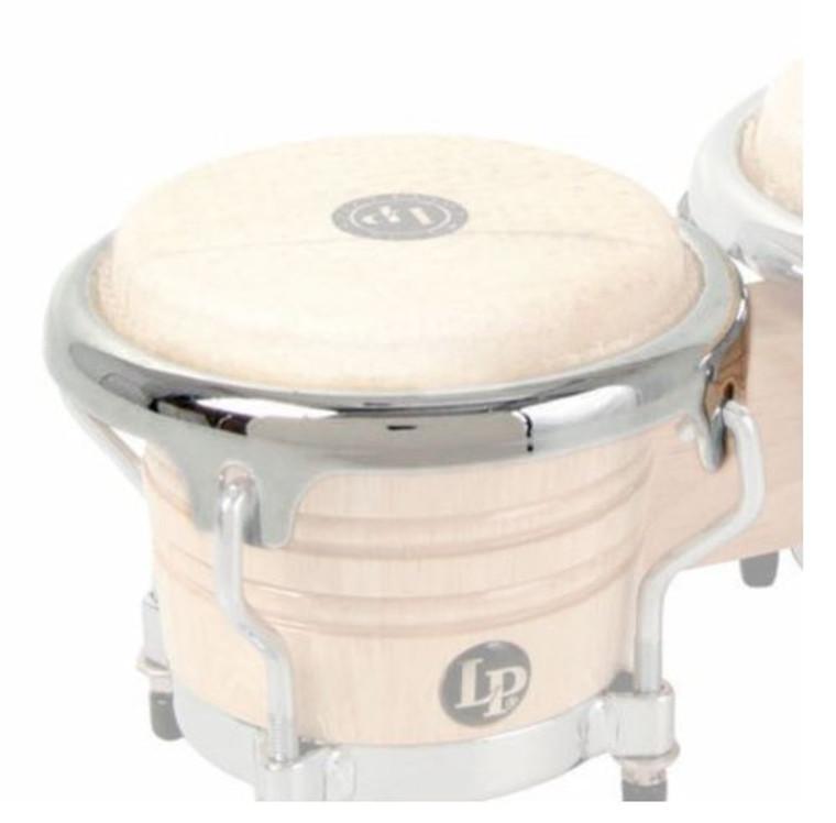 LP 3-1/2-Inch Mini Bongo Rim-Chrome (LPM920)