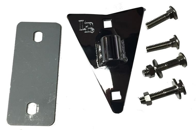 LP Conga Side Plate, Chrome, for LPA610/611/612 (LPA424D)