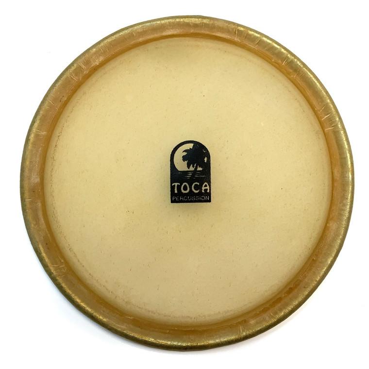 "Toca 81/2"" Bongo Head Limited Edition, Custom Del. &Eric Velez Wood (TP-47008)"